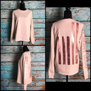 Good American White Long Sleeve Top